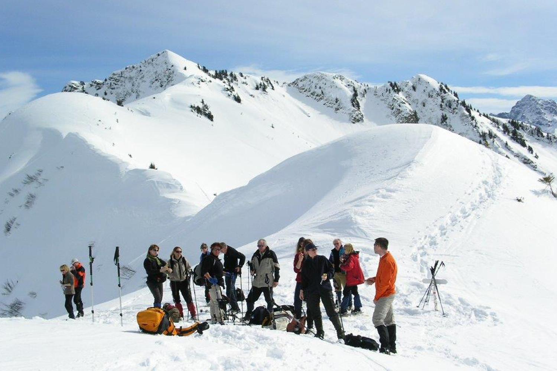 Sneeuwwandelen