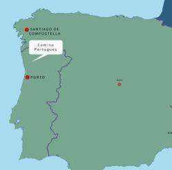 Portugal-Spanje Camino Portugues